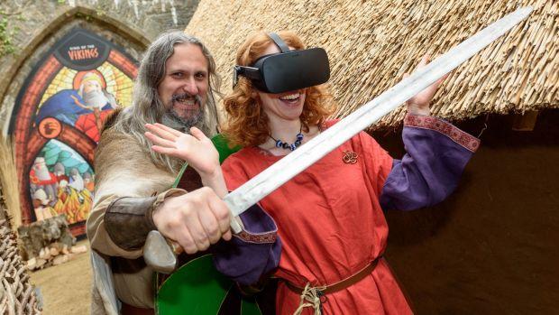 Virtual Reality King of the Vikings
